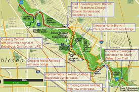 Chicago Bike Map First Portion Of North Branch Trail Extension Project Nears