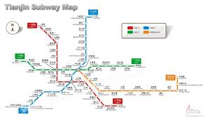 Beijing Metro Map by Tianjin Map Map Of Tianjin U0027s Tourist Attractions And Subway