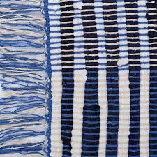 tappeto etnico tappeto etnico con frangia azzurro etnic outlet arredamento etnico