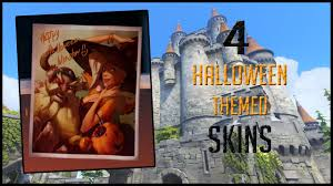 overwatch 4 halloween themed skins that should be in the game