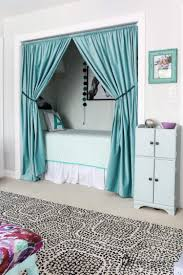how to turn a closet into a bed nook spackling tips designer