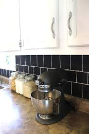 Chalkboard Kitchen Backsplash by Kitchen Islandss