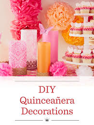 Centerpieces For Quinceaneras Diy Quinceanera Decorations Hallmark Ideas U0026 Inspiration