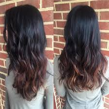 ambry on black hair 30 bright ideas for dark ombre hair stand out in the crowd