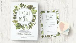 wedding invitations greenery read more greenery watercolor leaves wedding invitations