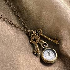 antique key necklace images Sweet romance quot steampunk pocket watch and antique key necklace jpeg