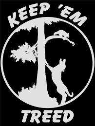 11 bluetick coonhound puppies in a bathtub coon hunter sticker keep em treed custom sticker shop a