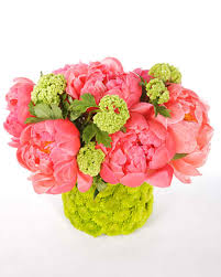 peony arrangement peony arrangements martha stewart