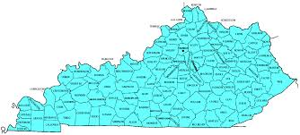 Richmond Ky Map Kentucky Counties