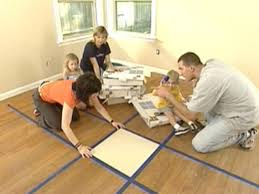 Install Laminate Flooring Over Carpet How To Install Carpet Tiles How Tos Diy