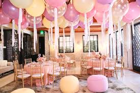 36 inch balloons cover the ceiling in 36 inch balloons for a birthday