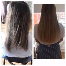 Hair Extensions With Keratin Bonds by London Mobile Hair Extensions Itip Micro Rings Keratin Bond