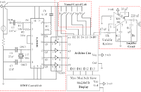 circuit diagram of the solar powered smart ultrasonic insect