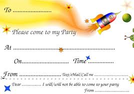 Kids Birthday Party Invitation Card Invitation Cards For Birthday Party