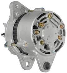 new 24v 35 amp alternator fits komatsu excavator pc200 pc220 6d105