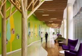Sustainable Design Interior Randall Children U0027s Hospital Heals Through Sustainable Design U2013 Zgf