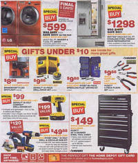 home depot washer black friday home depot black friday 2011 ad scan