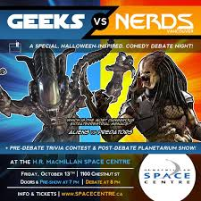 monsters vs aliens halloween special geeks vs nerds van wc geeksvsnerds twitter