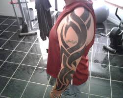 53 graceful tribal tattoos on full sleeve