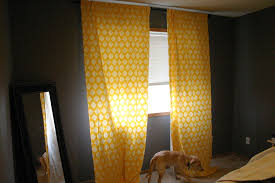 Curtains In A Grey Room Yellow Curtains For Bedroom Editeestrela Design
