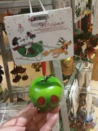 whistle while we disney store ornaments