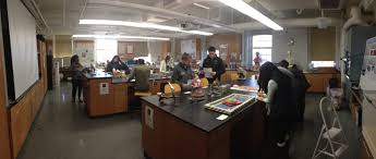 lab human anatomy at colby