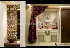 interior design for mandir in home mandir spaces for modern home owners contractorbhai