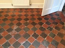 and quarry tiled floors restored in shrewsbury tile