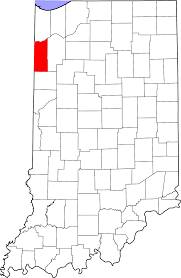 Indiana Illinois Map by National Register Of Historic Places Listings In Newton County