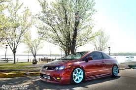stanced lexus coupe covering all tracks steven u0027s 2007 civic si coupe