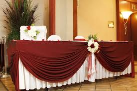 wedding table decoration linens noretas decor inc
