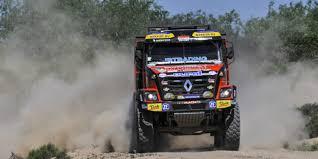 renault dakar camiones van den brink avisa con renault motor y racing