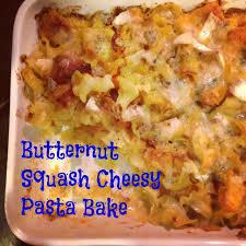 recipe butternut squash cheesy pasta bake