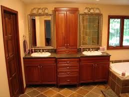 bathroom double bathroom vanity with under mounted sink and