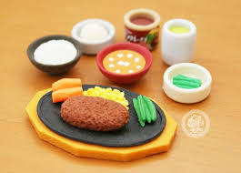 cuisine japonaise santé gommes kawaii japonaises iwako iwako eraser en forme de miniature