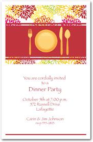 Dinner Invitation Dinner Party Invitations