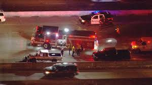 Houston Transtar Traffic Map Deadly Crash Shuts Down I 45 Gulf Freeway Khou Com