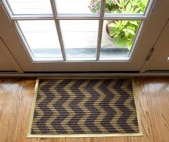 Interior Door Mats Diy Chevron Doormats Design Improvised