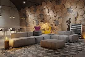 wandgestaltung beispiele wohnzimmer wandgestaltung 30 beispiele mit 3d effekt