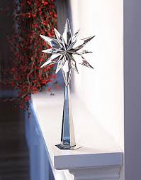 Swarovski Christmas Ornaments 2014 Australia by Swarovski Silver And Crystal Rockefeller Tree Topper I Absolutely