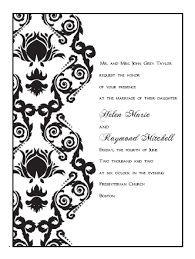 printable invitation templates printable wedding invitations templates damask print