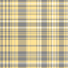 gray yellow plaid fabric pond ripple spoonflower