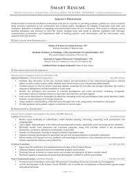 Criminal Justice Resume Samples by Samples How Smart Resume Services U0027 Writers Work