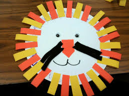 lion craft with paper plate helen u0027s art and crafts