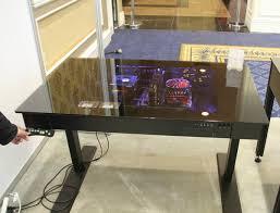 bureau avec ordinateur intégré bureaux pc view with bureaux pc projet mod bureau pc