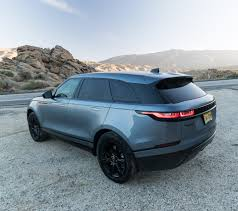 range rover velar inside driven 2018 range rover velar the awesomer