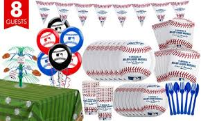 baseball party supplies mlb rawlings baseball party supplies decorations party city