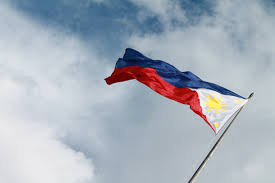 Philippines Flag Free Images Cloud Sky Wave Flower Wind Sign Red Banner
