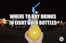 guide where to buy drinks in light bulb bottles in la u0026 oc eat
