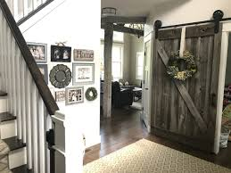 Erias Home Designs Top Of Door Sliding Barn Door Hardware by Sliding Barn Door Hardware Barn Doors And Rolling Library